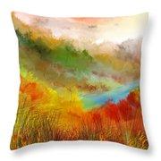 Autumn Daze Throw Pillow