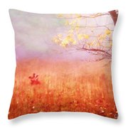 Autumn Dreams Throw Pillow by Darren Fisher