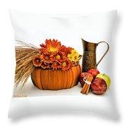 Autumn Fresh Throw Pillow