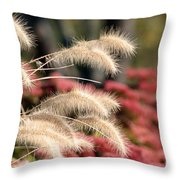 Autumn Garden Throw Pillow