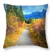 Autumn In Canada Throw Pillow