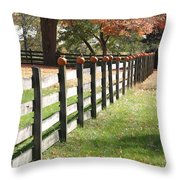 Autumn In New Jersey 2 Throw Pillow