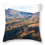 Autumn In Rocky Mountain National Park Throw Pillow