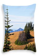 Autumn In The Olympics Throw Pillow