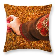 Autumn Leaves Times Two Throw Pillow