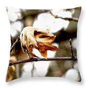 Autumn Leftovers Throw Pillow