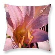 Autumn Lily Throw Pillow
