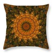 Autumn Mandala 1 Throw Pillow
