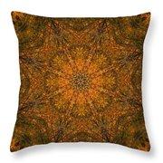 Autumn Mandala 2 Throw Pillow
