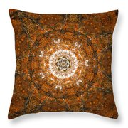 Autumn Mandala 3 Throw Pillow