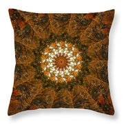 Autumn Mandala 4 Throw Pillow