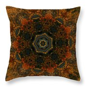 Autumn Mandala 5 Throw Pillow