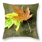 Autumn Pair Throw Pillow