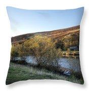 Autumn Pond 6 Throw Pillow