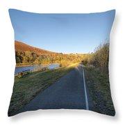 Autumn Pond 8 Throw Pillow