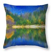 Autumn Reflected 2 Throw Pillow