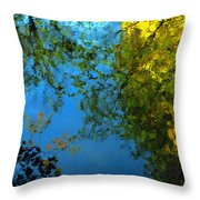 Autumn Reflections New Hampshire II Throw Pillow
