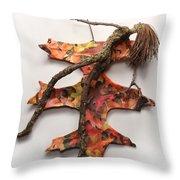 Autumn Release Throw Pillow by Adam Long