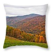 Autumn Song Throw Pillow