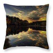 Autumn Sunset 2 Throw Pillow