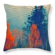 Autumn Vision Throw Pillow