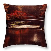 Autumnal Sunshine Throw Pillow by Dana DiPasquale