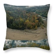 Autumnal View Of One Of The Loops Throw Pillow