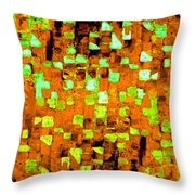 Autumns Wake 1 Throw Pillow