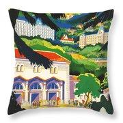 Auvergne France Throw Pillow