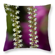 Ava's Fragile Flower Throw Pillow