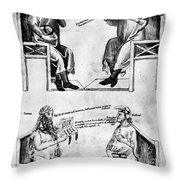 Averroes (1126-1198) Throw Pillow