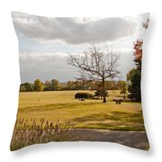 Avery Hill Parkland Throw Pillow