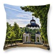 Aviary At Schonbrunn Palace Throw Pillow