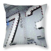 Aviation Boatswains Mate Paints Throw Pillow
