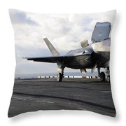 Aviation Boatswains Mate Signals Throw Pillow