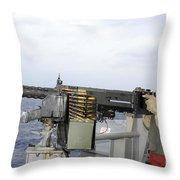Aviation Ordnanceman Fires Throw Pillow