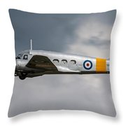 Avro Anson 3 Throw Pillow