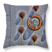 Aw Nuts Throw Pillow