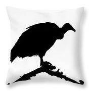 Awaiting Death Throw Pillow