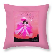 Awareness Throw Pillow