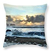 Awash In The Sea Throw Pillow