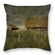 Away From Concrete  Throw Pillow