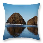 Awww Reflections How I Love Them So Throw Pillow