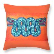 Aztec Gold Throw Pillow