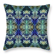 Azuraz Candle Tiled Throw Pillow