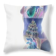 b.1950 H Throw Pillow