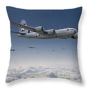 B29 - Superfortress Throw Pillow