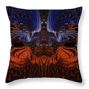 B7 Something From Below Fx  Throw Pillow
