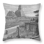 Babylon Throw Pillow by Science Source