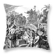Babylonian Captivity Throw Pillow by Granger